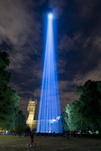 spectra by Ryoji Ikeda, 2014. Photo by Will Eckersley