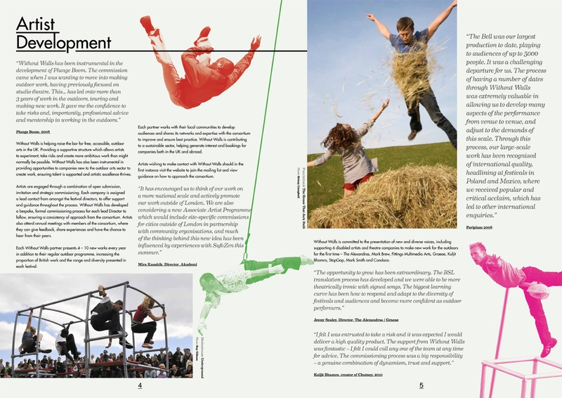 Without Walls Annual Report 2010/11